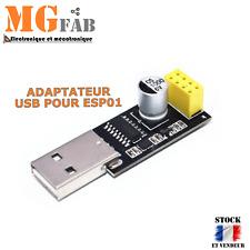 Adaptateur USB ESP8266 ESP01 CH340 | Arduino ESP-01 WIFI IOT développement