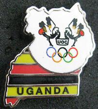 LONDON 2012 Olympic UGANDA NOC Internal team - delegation pin