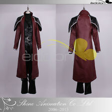 EE0025BL Final Fantasy VII Genesis Rhapsodos Cosplay Costume
