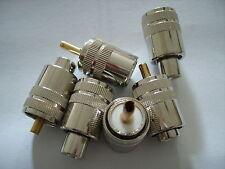 1 Stück  UHF(PL) - Stecker für RG 58 Koaxkabel