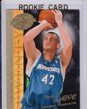 KEVIN LOVE Timberwolves NBA ROOKIE BASKETBALL RC Card UD Hobby Preview LE