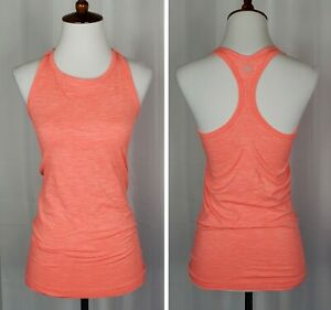 Athleta High Neck Seamless Racerback Fitted Tank Top Women's size Small