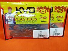 "Strike King Perfect Plastics Rodent (3"") (8 ea) (2 pks) Ro3-466 Crawdaddy"