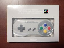 Nintendo Wii Club Super Famicom Classic Limited Edition Controller boxed US Sell
