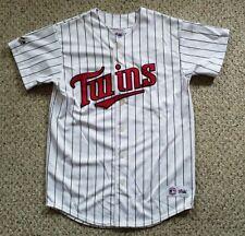 Minnesota Twins #48 Torii Hunter MLB Jersey Majestic Genuine Mech.  Youth XL VGC