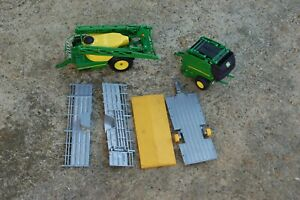Britains tractor Baler, Sprayer and Livestock trailer, spares, repair or parts.
