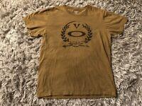 Oakley Elite Special Forces Standard Issue T-Shirt Men's Size Large Tan