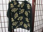 0dretWoman's Sweater with Knitted Sleeves SizeM  New w/tags Super Fast Shipping