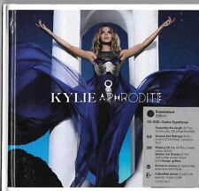 Kylie Minogue Aphrodite Experience Edition CD DVD Hardcover Booklet