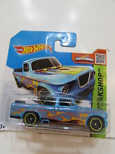 HOT WHEELS 2015 HW WORKSHOP -  '63 STUDEBAKER CHAMP SHORT CARD