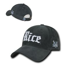 NCAA  Rice Owls University Low Crown Structured Corduroy Baseball Caps Hats