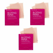 3x Model Co Blotting Paper Dual Sided Matte Papers Translucent Powder 150 SHEETS