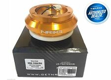 NRG Steering Wheel Short Hub Adapter Civic 92-95 EG Integra 94-01 DC2 (GOLD)