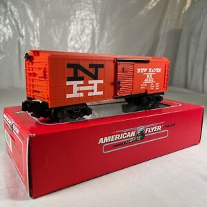 AMERICAN FLYER S SCALE 6-48322 NEW HAVEN BOXCAR ROAD.#N.H. 48322