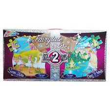 GRAFIX Girls Jigsaw Puzzles Swan Lake & Frog Prince 45 Pieces 50 cm x 40 cm