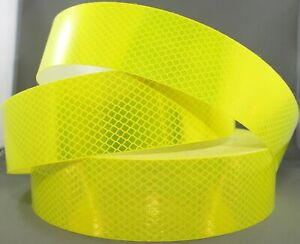 3M Fluoro Yellow Green (4083) Diamond Grade Class 1 Reflective Tape 55mm x 1m