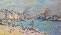 Monet 1874, Port of La Havre, Canvas Print, Fade Resistant HD Print or Canvas