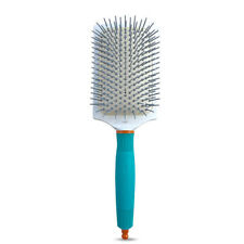 XL Professional Moroccanoil Ionic Ceramic Thermal Paddle Brush.Free Shipping
