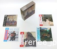 Crosby, Stills & Nash / JAPAN Mini LP CD x 5 titles + PROMO BOX Set!! NEW!!