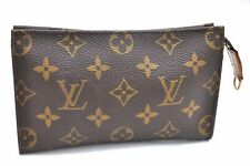 Authentic Louis Vuitton Monogram Pouch LV A4430