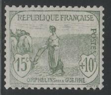 """FRANCE STAMP TIMBRE N° 150 """" ORPHELINS FEMME LABOUR 15c+10c """" NEUF xx LUXE K479B"""