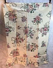 1 Elizabeth Gray Victoria Lace Roses Standard Pillowcase JCPenney New Opened Pkg