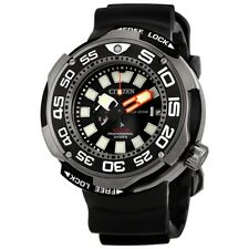 NEW MEN'S CITIZEN PROMASTER TITANIUM ECO-DRIVE PRO-DIVE 1000M WATCH BN7020-17E