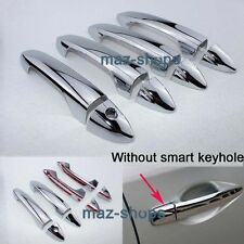 CHROME DOOR HANDLE COVER TRIM MOLDING CUP 4PCS 2011 2012 FOR 09~2013 FORD FIESTA