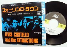 ELVIS COSTELLO 45 I Can't Stand Up for Falling Down F-BEAT Japan Press c2119