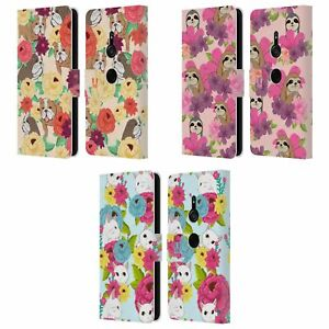 FLORAL & ANIMAL PATTERN LEATHER BOOK WALLET CASE & WALLPAPER FOR SONY PHONES 1