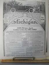Vintage Print,MICHIGAN,Buggy Co.Car Advertisement