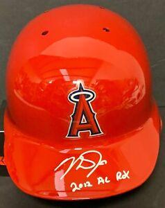 Mike Trout Signed Auto Angels Fulls Size Helmet 2012 AL ROY MLB Holo VS 547127