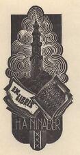 Ex Libris Dirk Govert van Luijn : Opus 58b, H.A. Ninaber