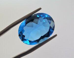 Sri Lankan Natural Royal Blue Topaz Oval Cut 18.5 ct (19mm x 14mm)
