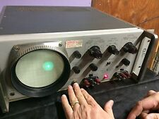 Hewlett-Packard, HP Oscilloscope 120B AC/DC 110-240 Volt w WARRANTY 1961