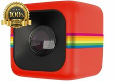 Polaroid Cube HD 1080p Lifestyle Action Video Camera Digital Red Manu Pro Image
