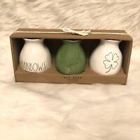 Rae Dunn St Patricks Bud Vases FARMHOUSE COUNTRY CHIC Home Decor FREE SHIPPING