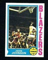 NMT 1974 Topps Basketball #66 John Johnson.