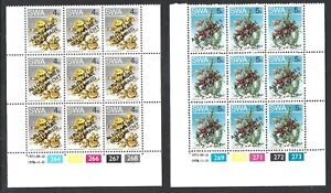 SOUTH WEST AFRICA 1978 'General Suffrage' MNH Blocks of 9 - Nice Lot! (Apr 339)