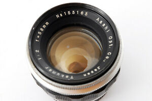 Rare [Excellent+] Pentax Takumar 58mm f/2 MF Lens for M42 Mount From Japan