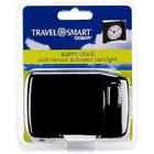 Conair Travel Smart Alarm Clock w/ Sensor Activated Backlight Lasts 2400 Hours