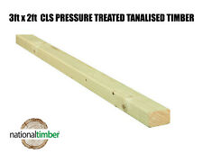 3x2 C16 Tanalised Timber Structural Graded Studwork Various Sizes