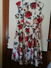 Vintage look Summer Sundress, Floral