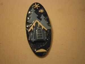 House Pins By Lucinda Snowy Night Scene Sky Lodge Pole