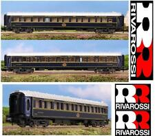 RIVAROSSI 9657 CIWL Vagon CAMAS VAGONE LETTO Lx 3543 ORIENT EXPRESS BOX SCALA-N