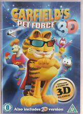 GARFIELD PETFORCE 3D (Also 2D Version) New/Unsealed Region 2  UPC: 5060223760247