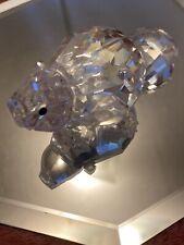 Swarovski Silver Crystal Mother Beaver