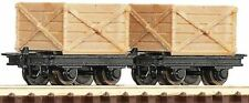 Roco 34603 Crate Wagons (2)  HOe/009 Scale