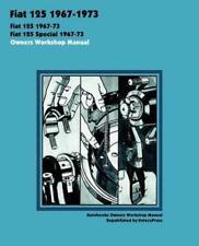 Fiat 1972 Car Service & Repair Manuals