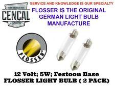 FLOSSER (MADE IN GERMANY) 2 PACK 12V 5W 35W N177252, 882 54020,  4033